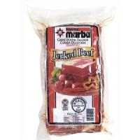 Carne bovina dianteira salgada, curada e dessecada Jerked Beef 500g