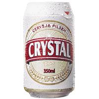 Cerveja lata Crystal 350ml