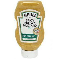 Mostarda Americana Heinz Spicy Brown 396g