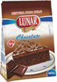 Mistura de  bolo chocolate Lunar 400g