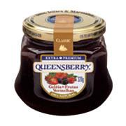 Geléia frutas vermelhas Queensberry 320g.