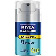 Gel hidratante revitalizante co-enzima Q10 antioxidante Gillette 50ml