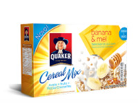 Cereal mix banana e mel Quaker 150g