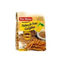 Palito de soja assado orgânico com gergelim Tia Moma 160g