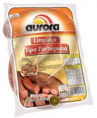 Linguiça tipo Portuguesa Aurora 400g