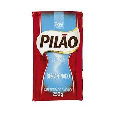 Café descafeinado a vácuo Pilão 250g