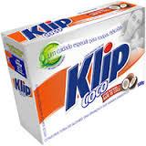 Sabão em pó de coco Klip 500g