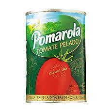 Tomate pelado Pomarola 400g