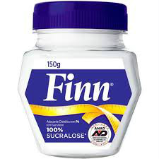 Adoçante em pó  sucralose Finn pote 150g