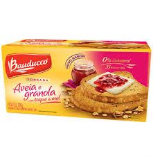 Torrada aveia, granola e mel Bauducco 160g