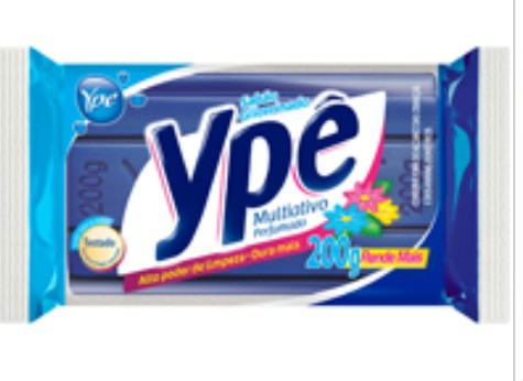 Sabão em barra (individual) multiativo perfumado Ypê 200g