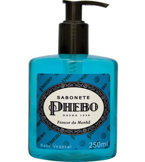 Sabonete líquido frescor da manhã Phebo 250ml