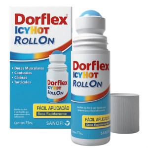 Dorflex Icy Hot roll on 73ml