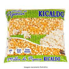 Milho de pipoca Kicaldo 500g