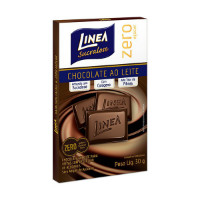 Chocolate ao leite zero açucar Linea  sucralose 30g