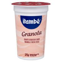 Iogurte integral  granola  Itambé 170g