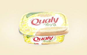 Margarina aéra c/ sal Qualy 250g