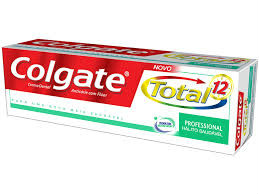 Creme dental  Colgate total 12 professional hálito saudável 70g