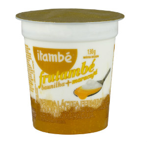 Bebida láctea fermentada baunilha calda maracujá Itambé 130g