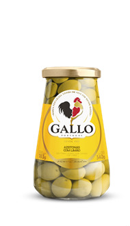 Azeitona verde temperada com limão Siciliano Gallo 183g