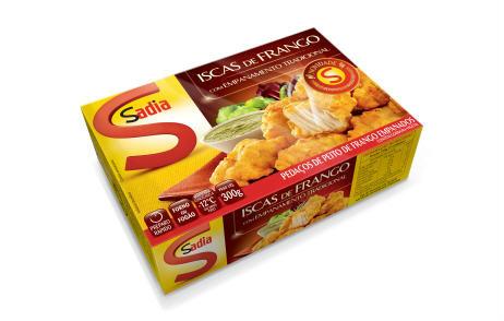 Isca de frango empanada Sadia 300g
