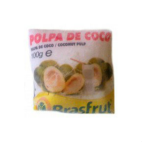 Polpa de coco Brasfrut 100g