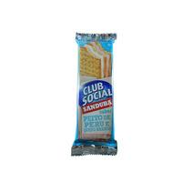 Biscoito club social sanduba recheado de peito de peru e queijo branco  45g