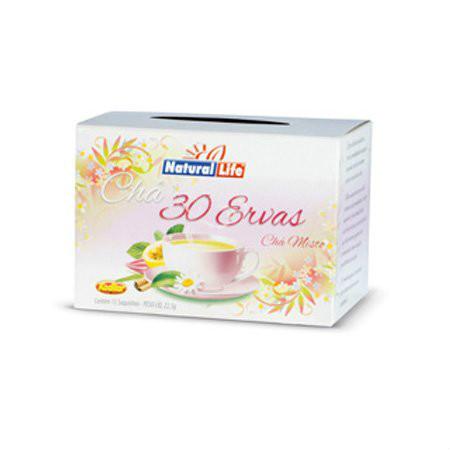 Chá misto 30 ervas Natural Life 22g