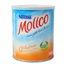 Leite em pó zero lactose Molico 260g