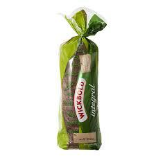 Pão de forma integral (verde) Wickbold 350g