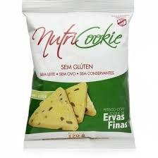 Petiscos sem glúten ervas finas Nutri Cookie 120g