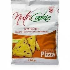 Petiscos sem glúten pizza Nutri Cookie 120g