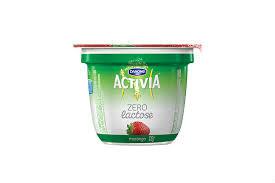 Iogurte Activia zero lactose  morango 100g