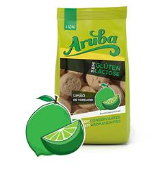 Biscoito de arroz sabor limão sem glúten Aruba 100g