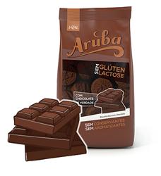 Biscoito de arroz sabor de chocolate sem glúten Aruba 100g