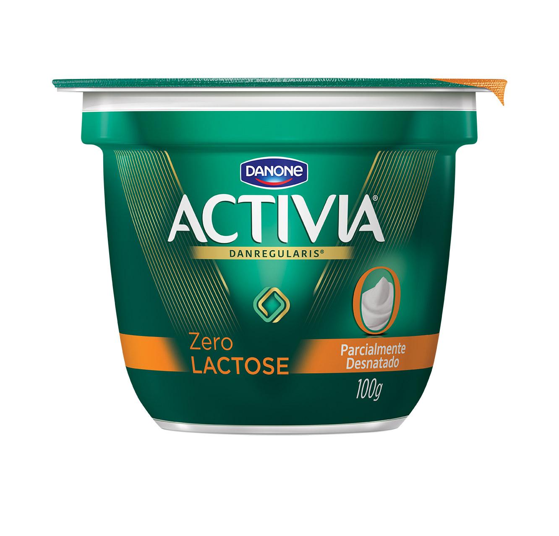 Iogurte zero lactose copo tradicional Activia 100g