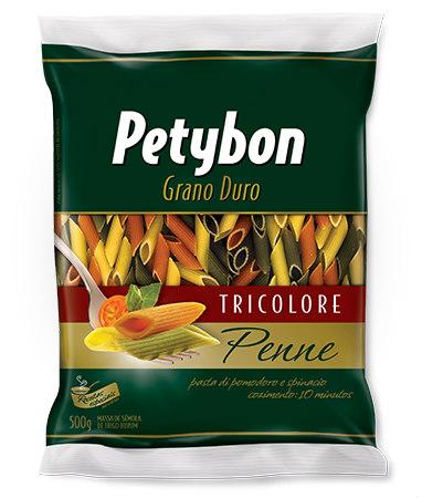 Massa grano duro penne tri color Petybon 500g