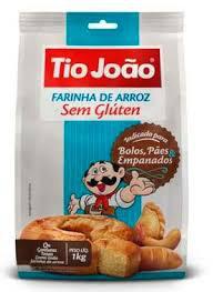 Farinha de arroz Tio João 1kg