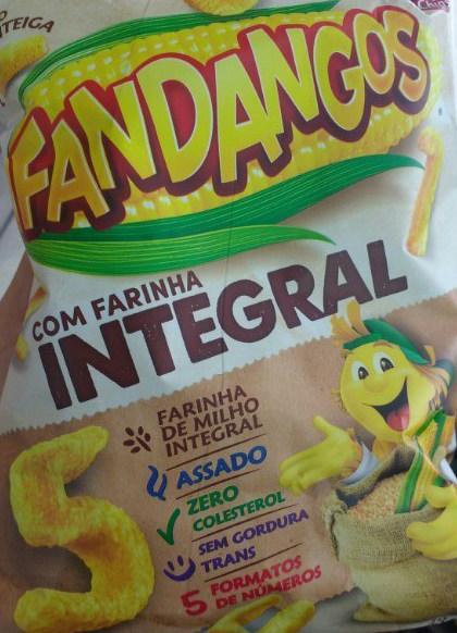 Fandangos sabor manteiga com farinha integral Elma Chips 59g