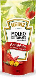 Molho de tomate com Arrebiata Heinz 340g