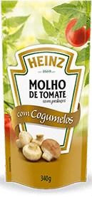 Molho de tomate com Congumelos Heinz 340g