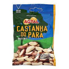 Castanha do Pará sem casca Agtal 50g