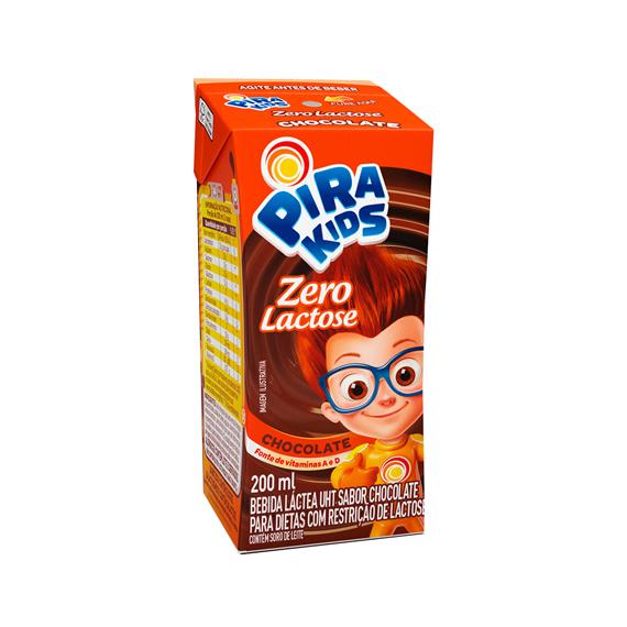 Achocolatado zero lactose Piracanjuba 200ml