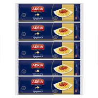 Massa com ovos espaguete  Adria  500g.(pacote c/5 unid.)