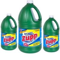 Água sanitária Zupp 5lts.(caixa c/3 unid.)