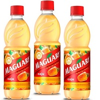 Suco de caju concentrado Maguary 500ml. (pacote c/3 unid.)