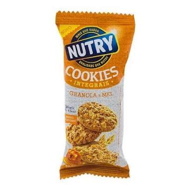 Cookies integrais granola e mel Nutry 40g