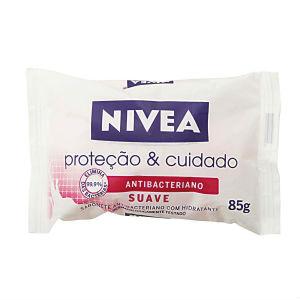 Sabonete antibacteriano suave proteção e cuidado Nivea 85g