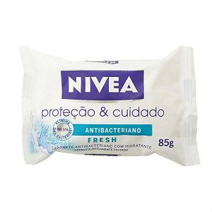 Sabonete antibacteriano fresh proteção e cuidado Nivea 85g