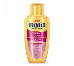 Shampoo controle de queda Niely Gold 300ml.